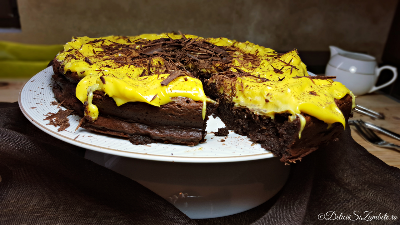 Tort de ciocolata cu mirodenii