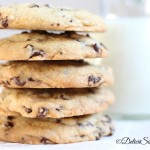 Biscuiti cu fulgi de ciocolata – Chocolate chip cookies