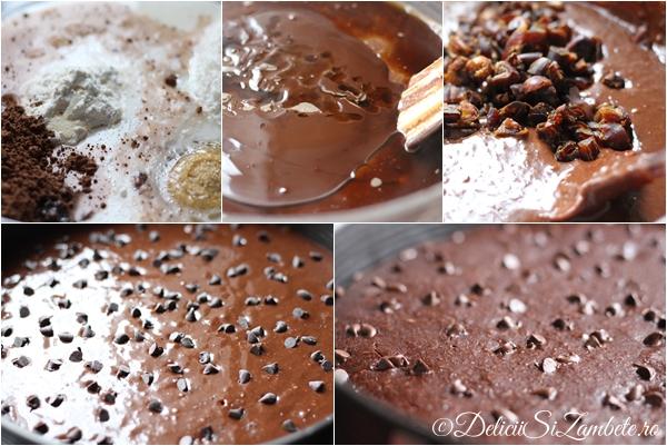 prajitura de post cu ciocolata si cafea 2