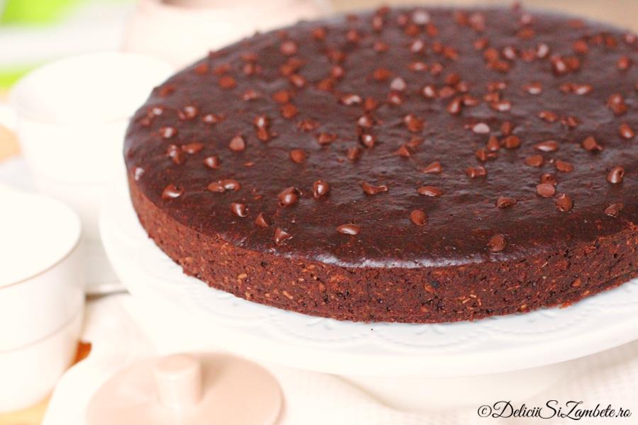 prajitura de post cu ciocolata si cafea 4