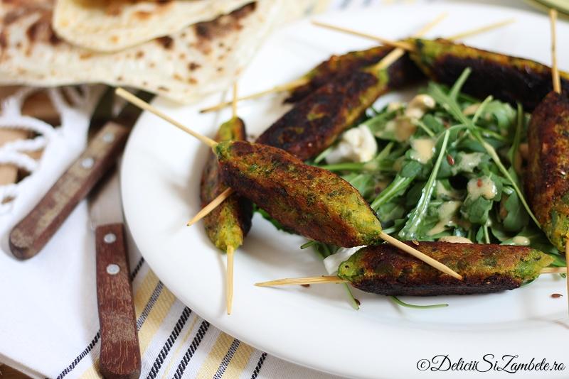Seekh kebab de legume