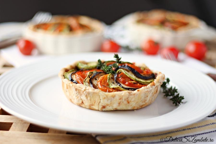 Tarta Ratatouille