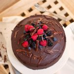 Tort vegan de ciocolata