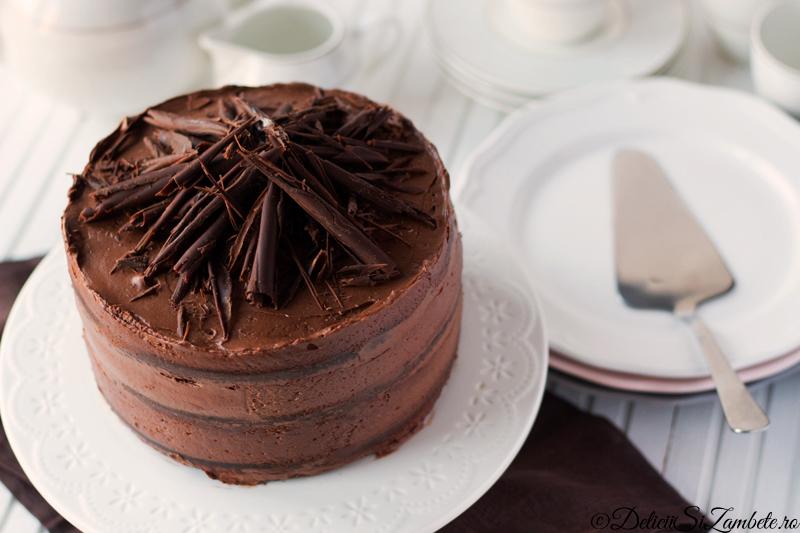 Tort de ciocolata si cafea