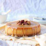 New York cheesecake vegan cu sos de caramel