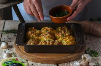 Cartofi gratinati. Din intamplare